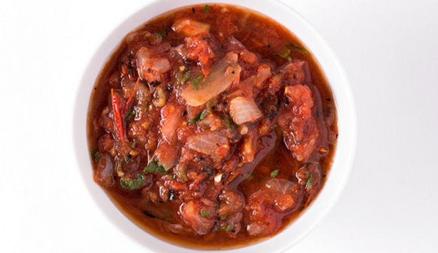 Upgrade Homemade Salsa by Marinating It for an Hour Before Serving