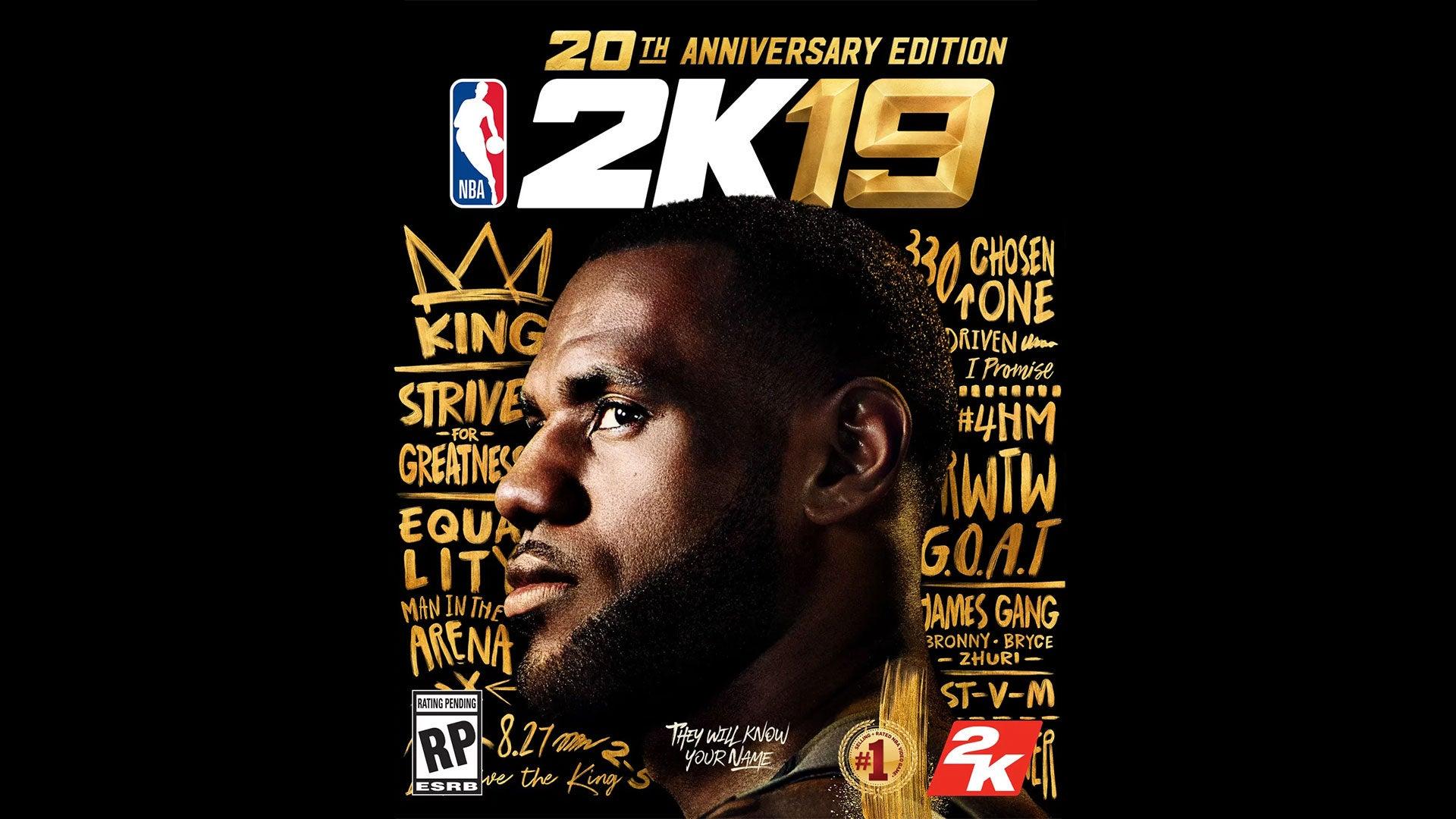LeBron James Is NBA 2K19's Cover Star   Kotaku Australia