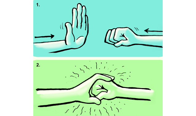 How to (Almost Always) Pick the Right Handshake