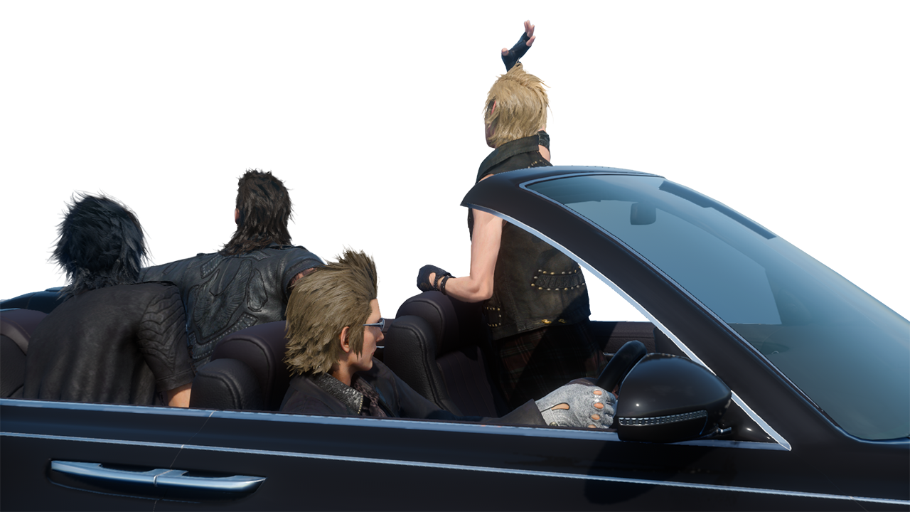 Square Enix Makes Better Final Fantasy XV Photoshops Possible