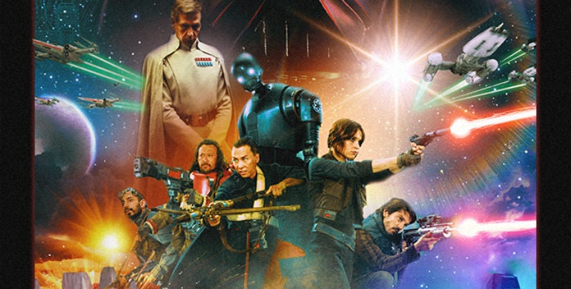 This Fan-Made Rogue One Poster Is Gorgeous, As Are These New Photos