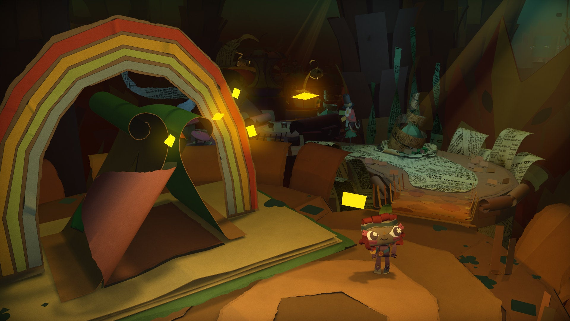 Tearaway Unfolded,Disc JamHeadlinePlayStation Plus Lineup For March