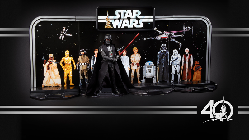hasbro's 40th anniversary star wars figures are an amazing