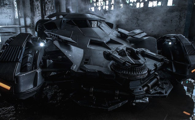 Here's a real picture of the new Batmobile and it looks sick