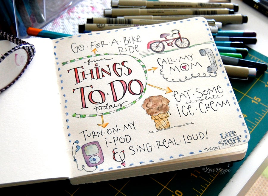 Seeing is Doing: Eight Creative Ways to Visualise Your To-Do List