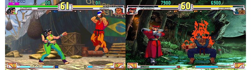 What A Retro Street Fighter V Would Look Like