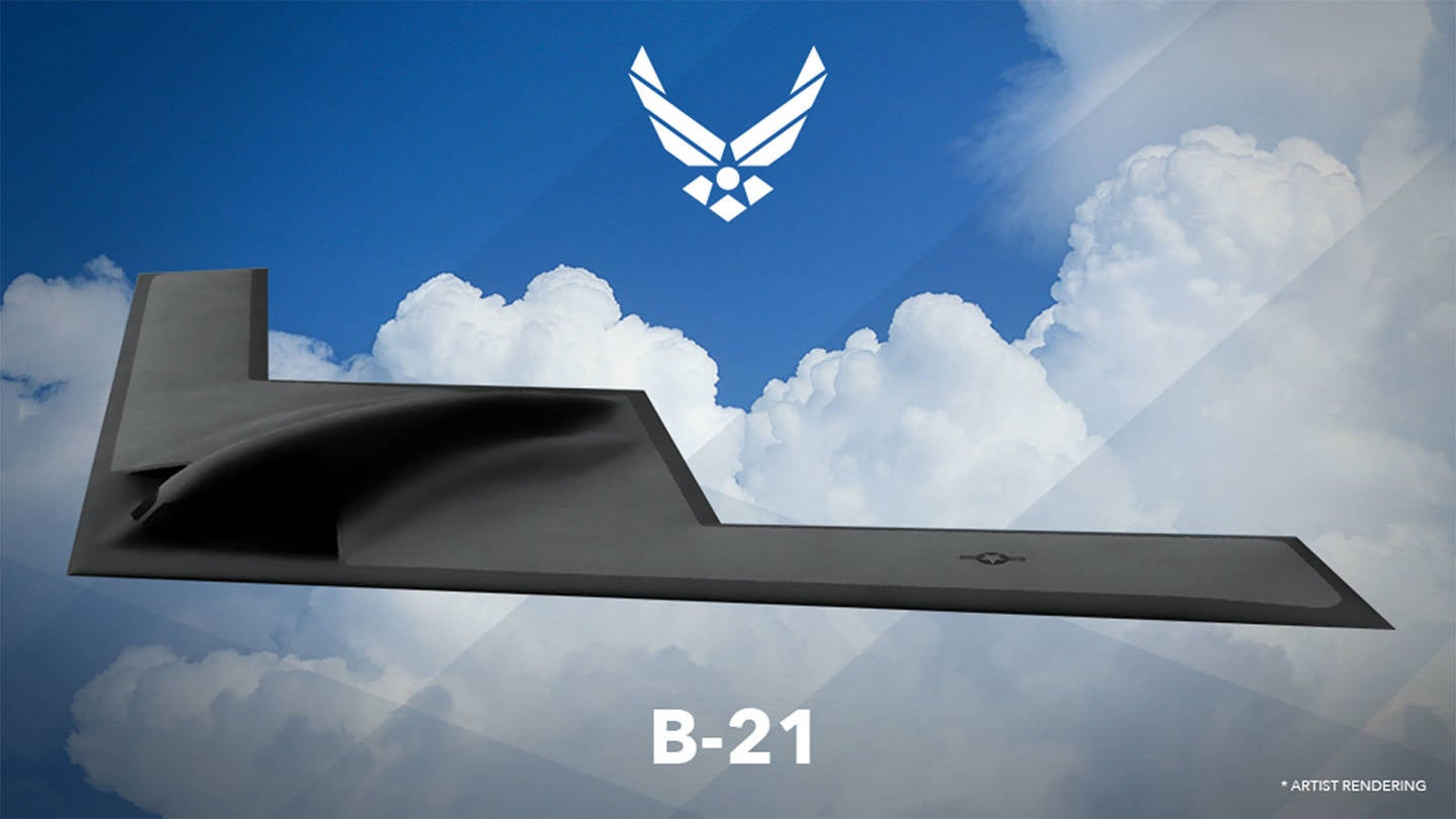 Here's the List of 4,600 Names Submitted For the B-21, Including '9/11 Cover-up' and 'Lowest Bidder'