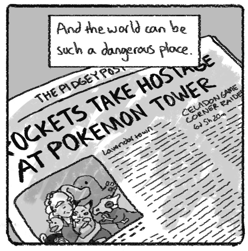 What Red's Mum Must've Felt During 'Twitch Plays Pokémon'