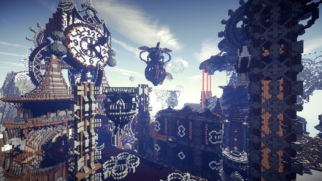 Minecraft's Industrial Revolution Maps Are Suitably Magical