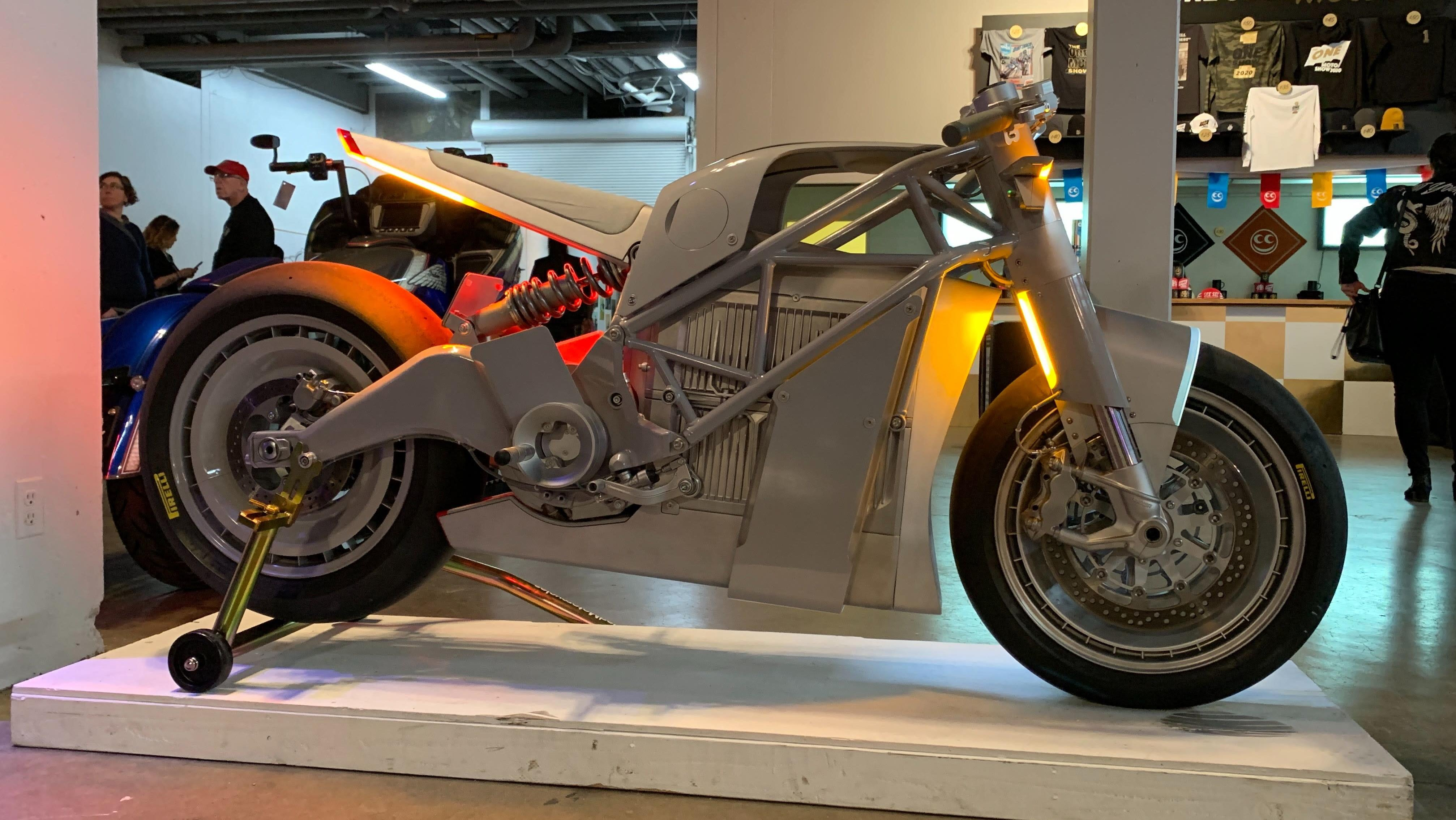 This Is The Coolest Bike I Saw At The One Motorcycle Show