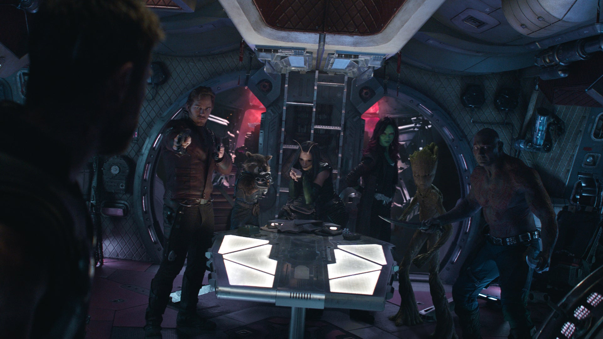 Watch The Russos Break Down Thor's First Meeting With The Guardians Of The Galaxy