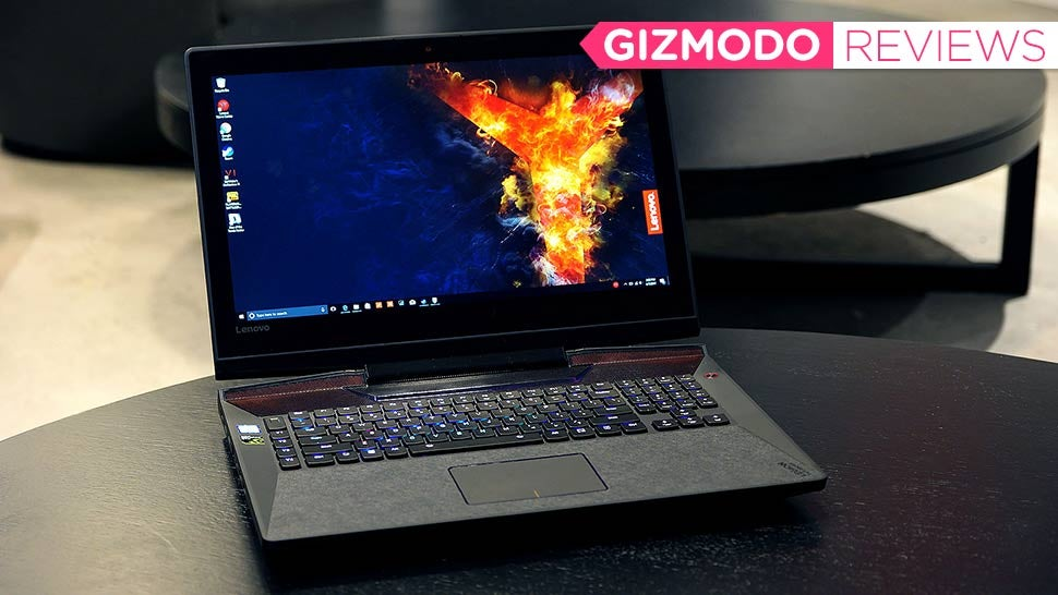 Lenovo's Legion Y920 Gaming Laptop: The Gizmodo Review