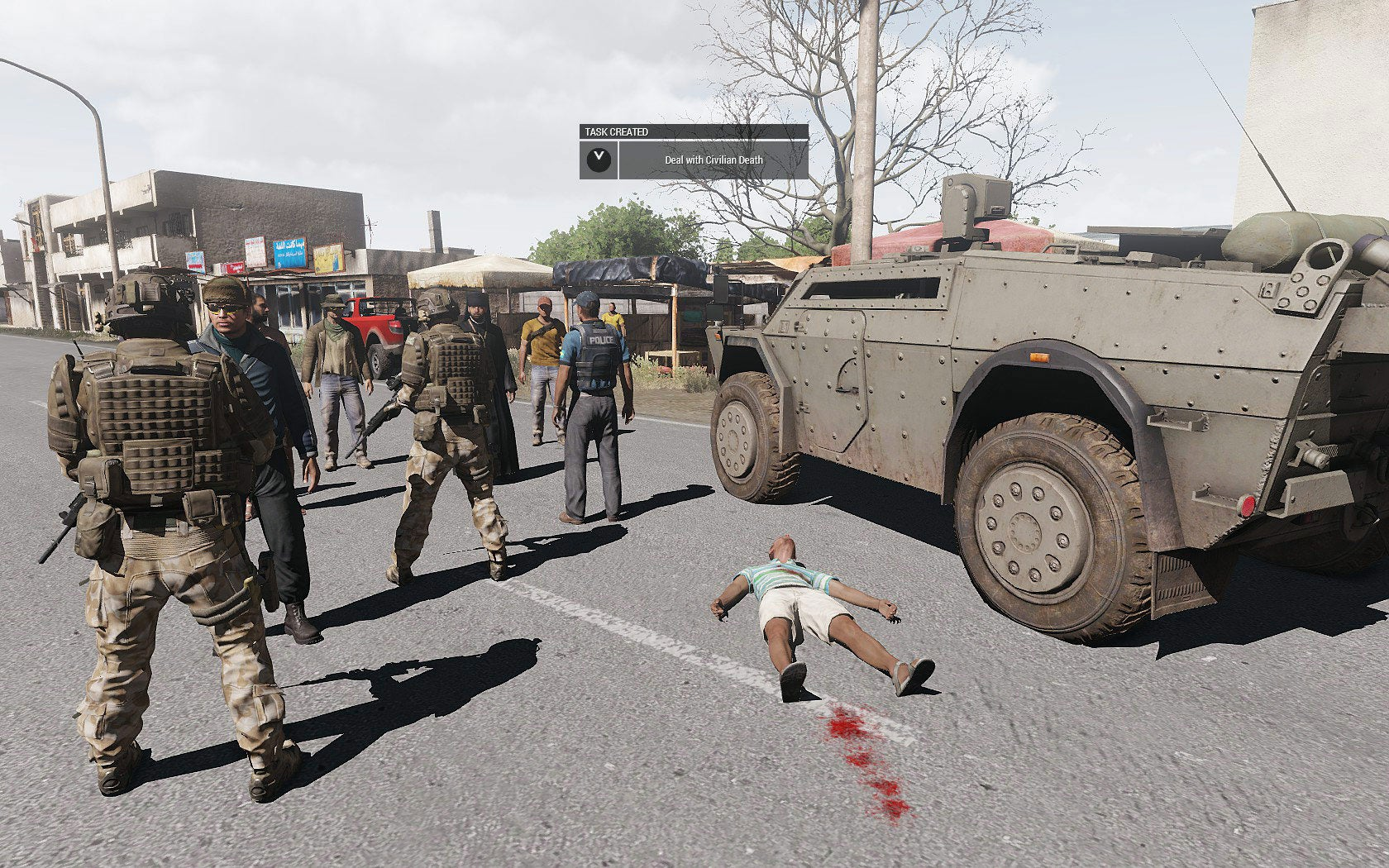 Military Shooter Mod Introduces Civilian Deaths And Cover-Ups