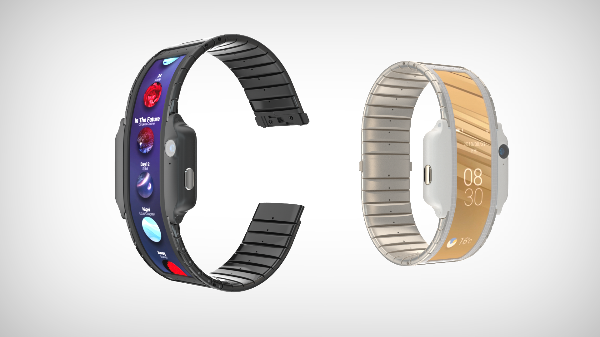 Look At This Wacky Smartphone Watch