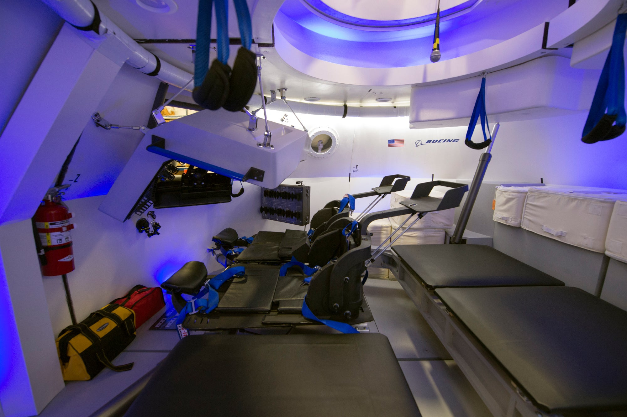 Boeing's New Space Taxi Has the Cleanest Cabin on Earth