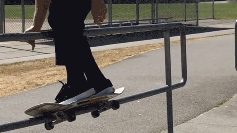 Screwing Up This Incredible Skate Trick Would Be So Very Painful