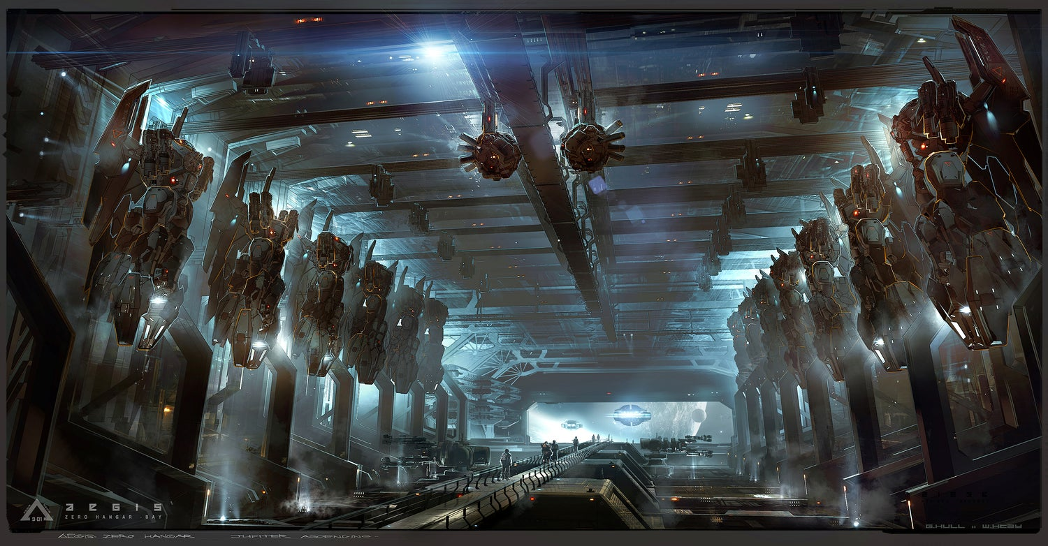 The concept art of Jupiter Ascending is glorious eye candy