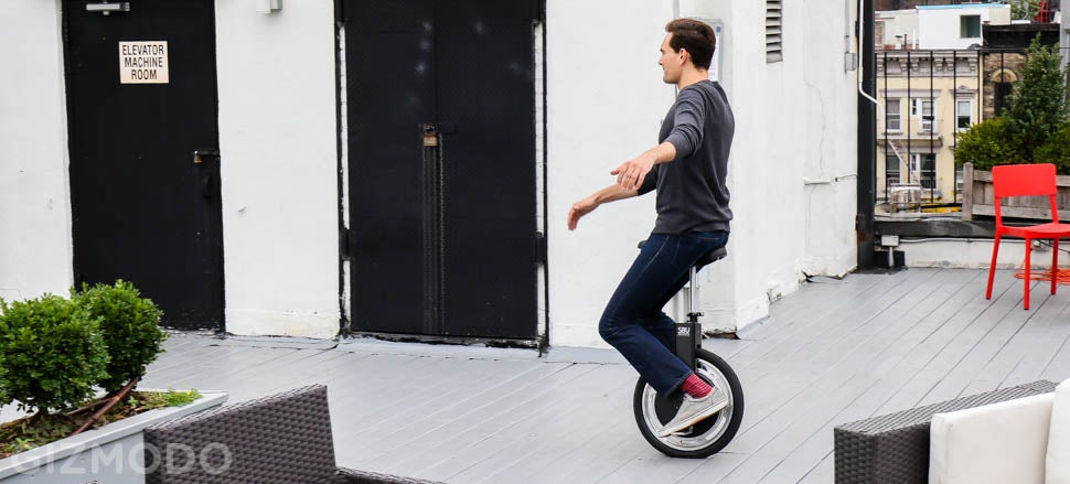 My Wobbly Ride on the Self-Balancing Unicycle of the Future