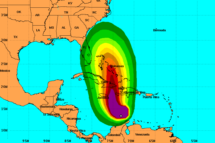 Here Is What's Going on With the Extremely Dangerous Hurricane Matthew