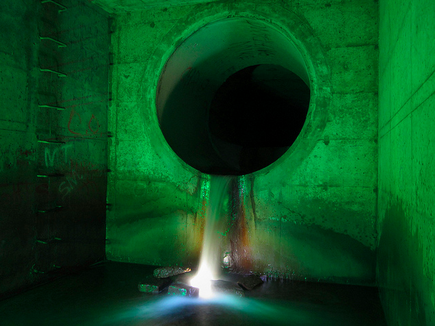 Unreal photographs of tunnels looks like portals into the underworld