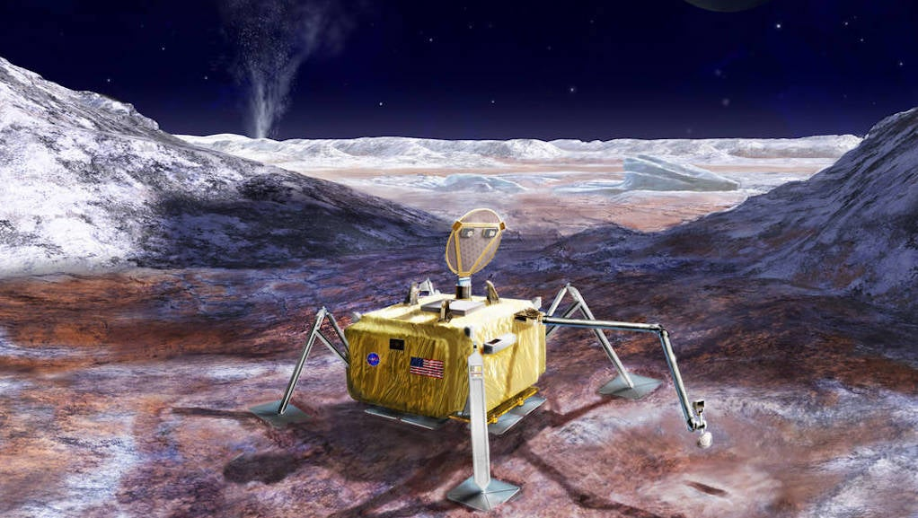 NASA Plans To Drill Into Europa's Crust In Search Of Life