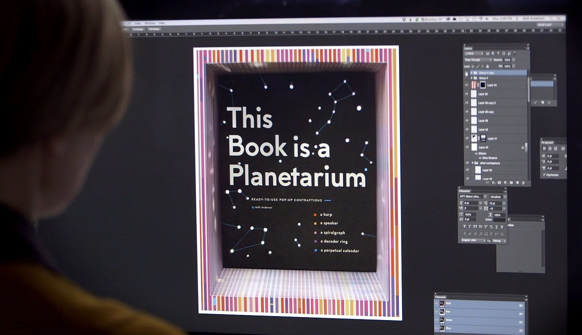 There's a Tiny Working Planetarium Inside This Pop-Up Book