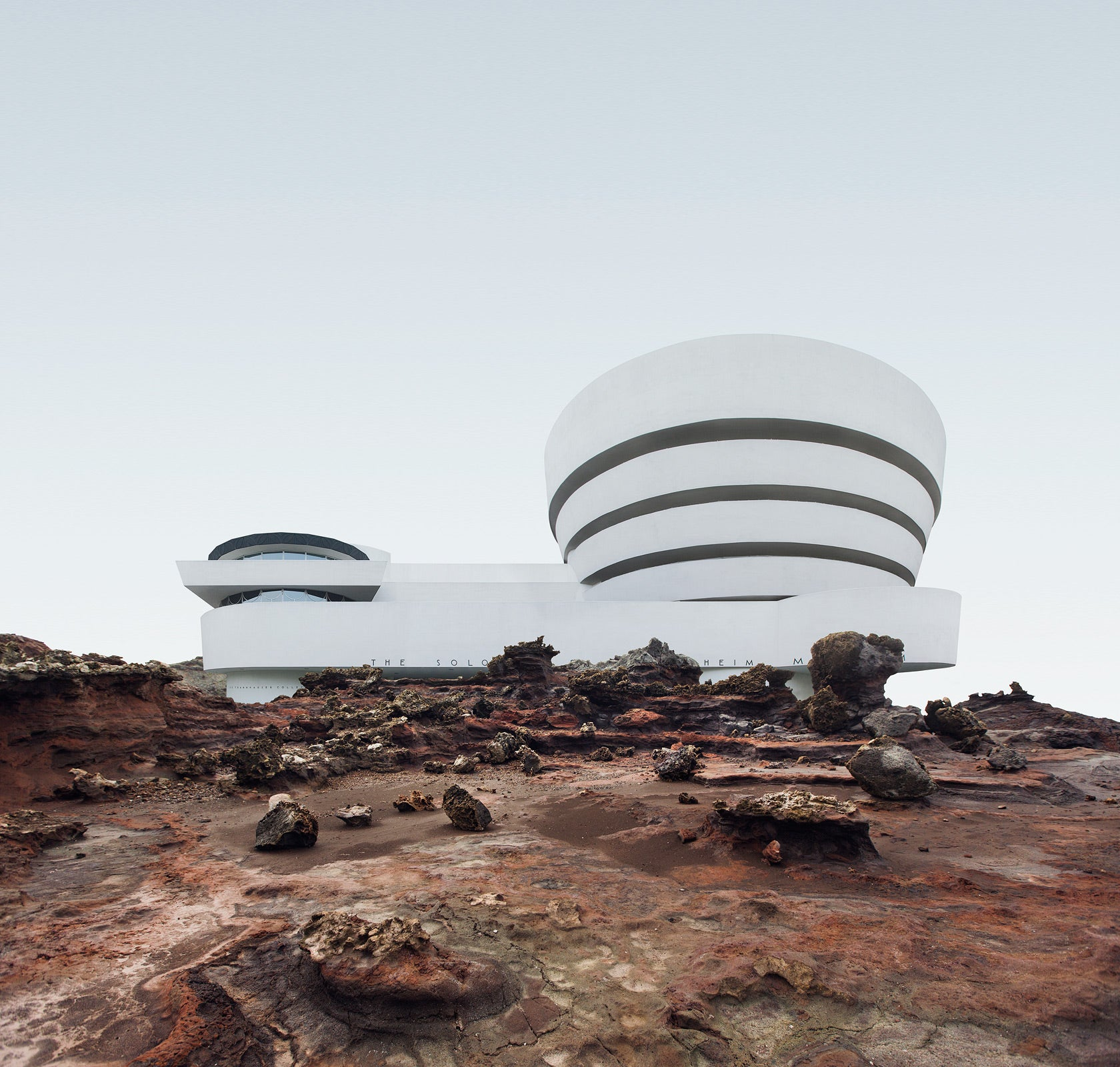 Famous New York Buildings Stranded in the Middle of Nowhere Somehow Make More Sense