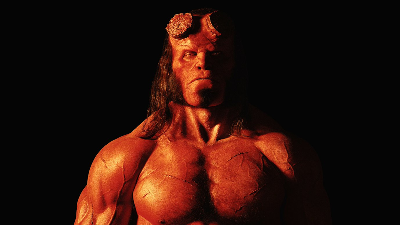 Stranger Things' David Harbour is unrecognizable in our first look at Hellboy