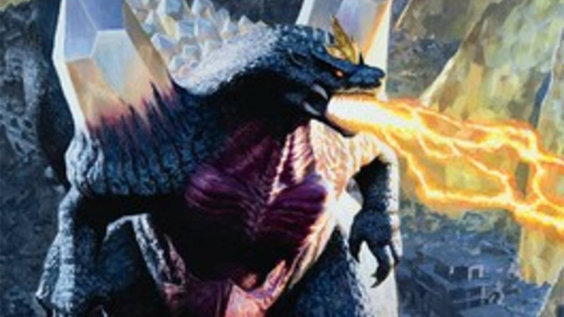 A Godzilla Magic Card Is Being Removed Because Of The Coronavirus