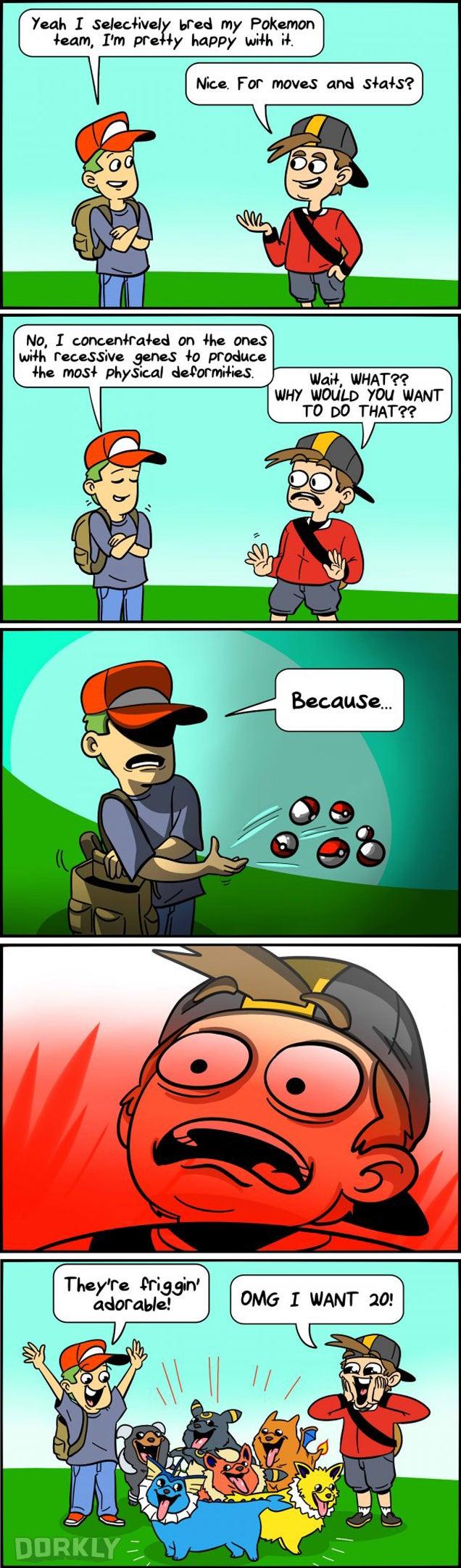 The Surprising Results of Selective Pokémon Breeding