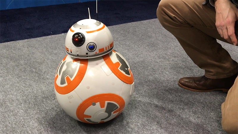 This Giant BB-8 Toy That Follows You Like A Puppy Might Be The Ideal Robotic Pet