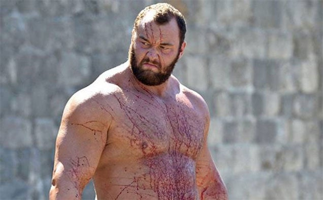 Game of Thrones Star Breaks A (Mythical) 1000 Year-Old Strength Record