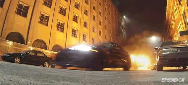 A behind the scenes look at the insane stunts of Fast and Furious 7