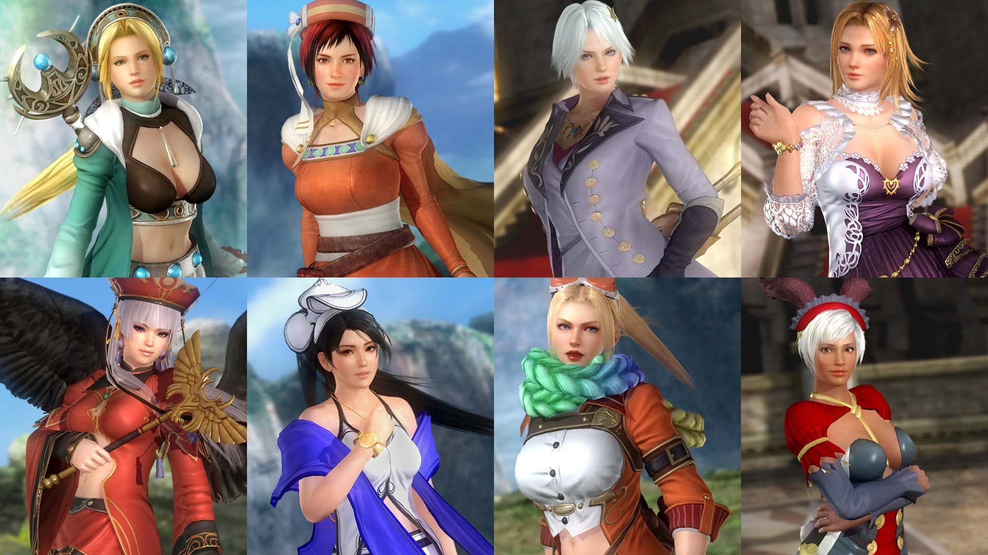 Dead Or Alive's Gust Costumes Are Almost Good Enough To Buy