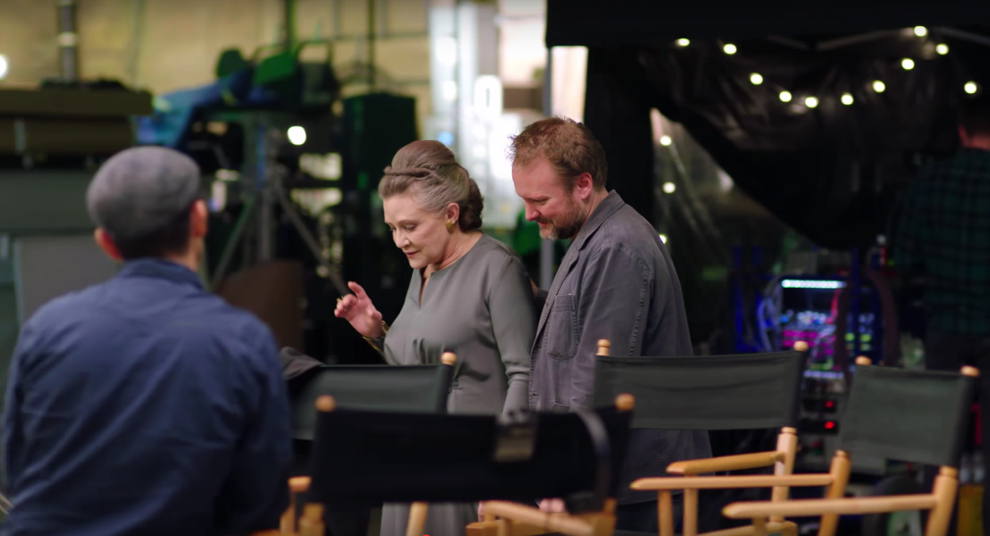 We Got An Emotional Glimpse Of General Leia In Star Wars: The Last Jedi