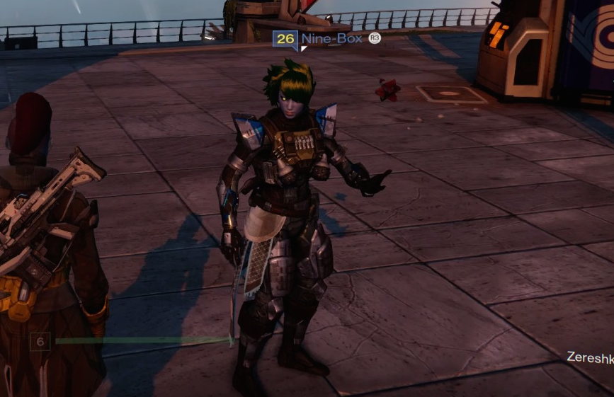 Spotted: A Level 26 Destiny Character
