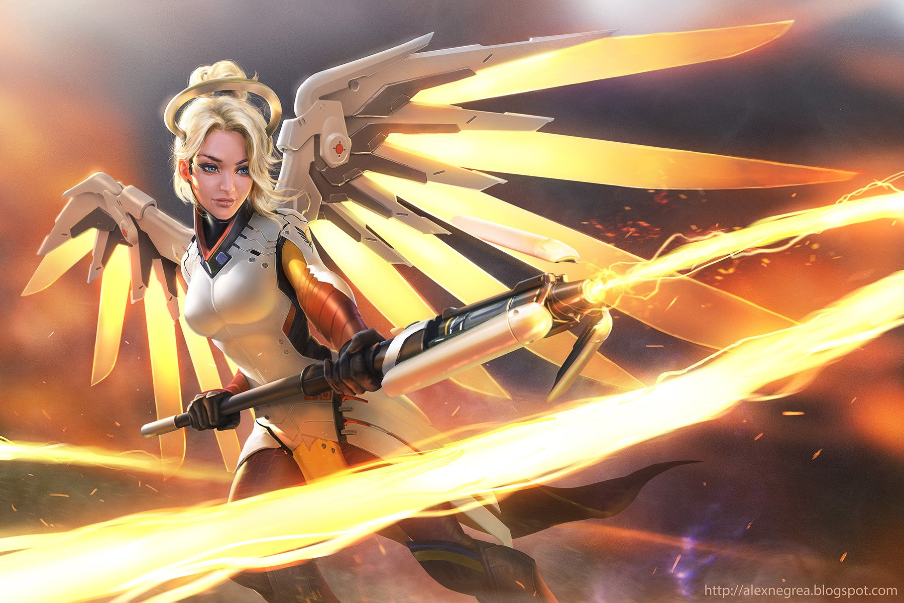 Some Of The World's Best Artists Are Already In Love With Overwatch
