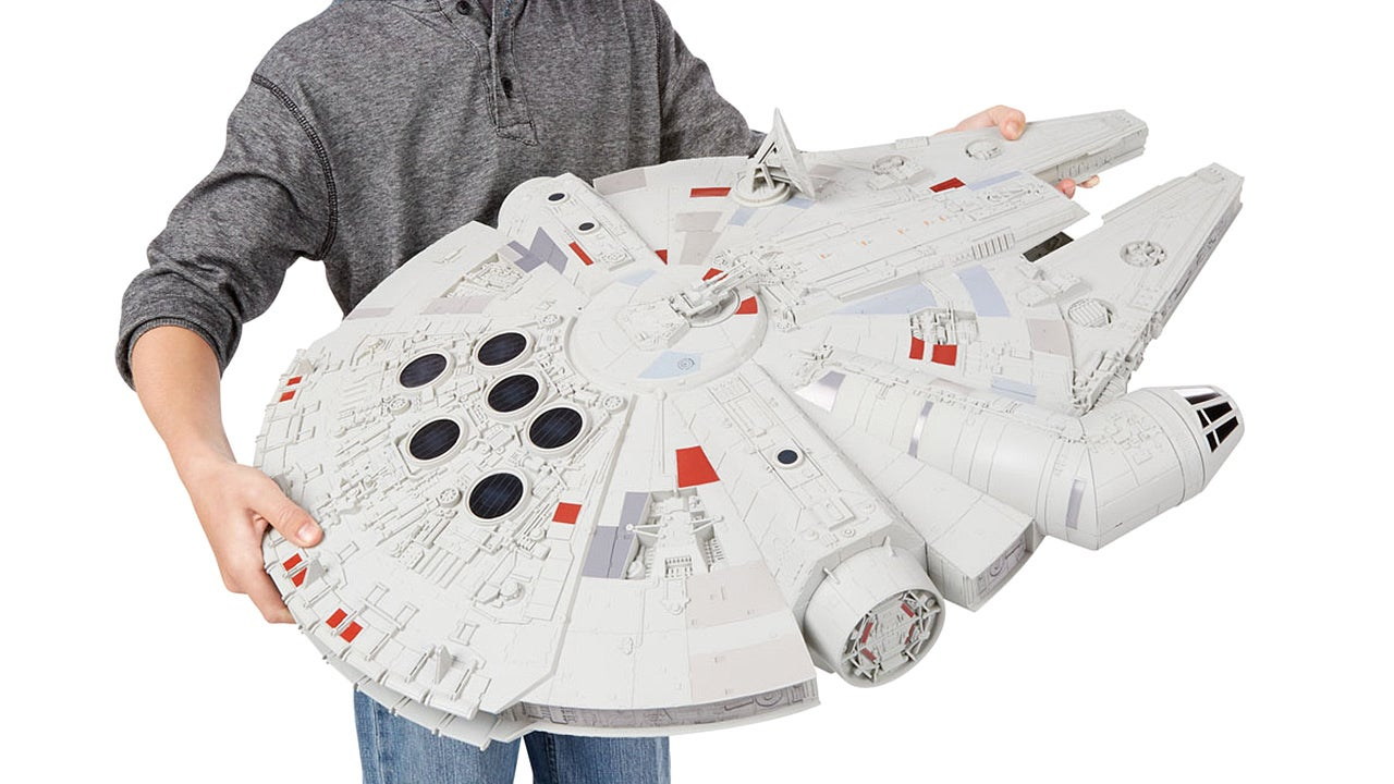 There Are Some Countries Smaller Than This Epic Millennium Falcon Toy