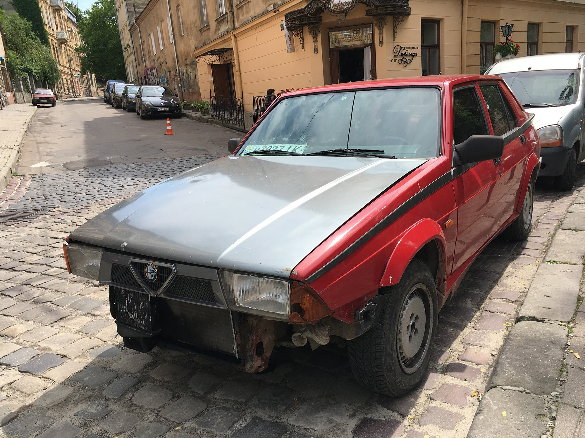 Here Are Only Some Of The Good Cars We Saw In Ukraine
