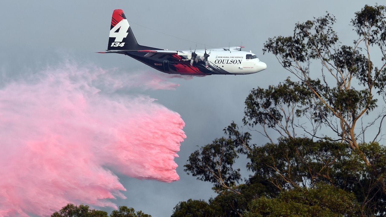 U.S. Firefighters Die In Plane Crash While Battling Australian Fires