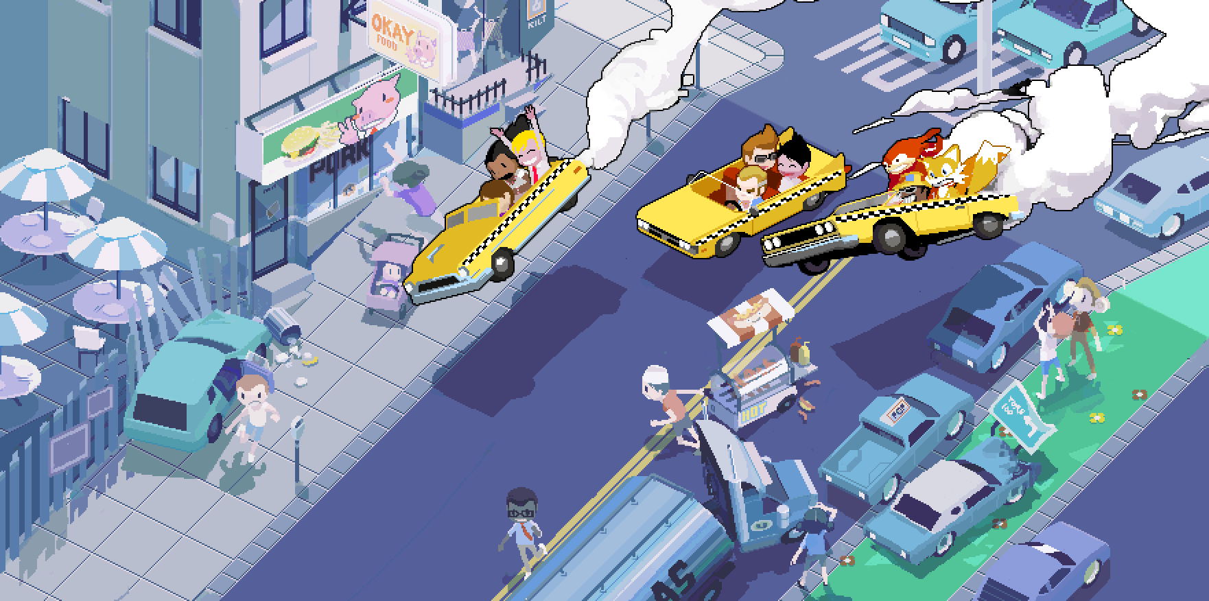 Those Are Some Crazy Taxis