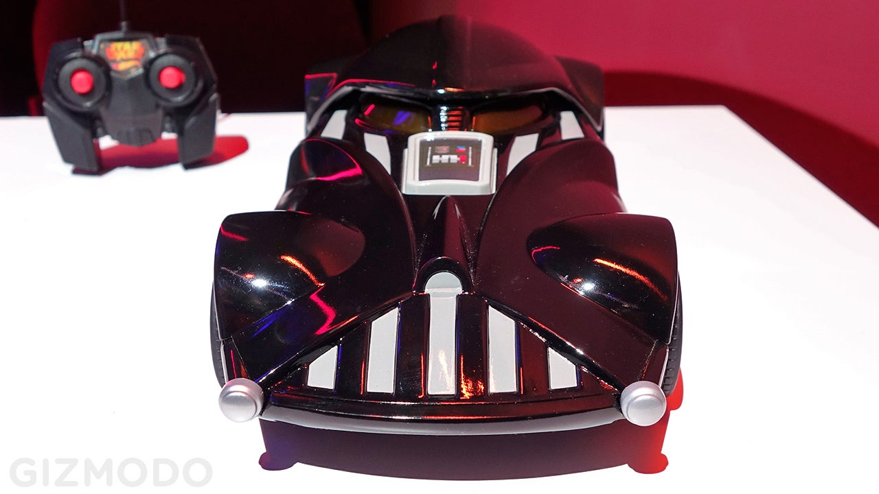 Now Anyone Can Drive Hot Wheels' Intimidating Darth Vader Car
