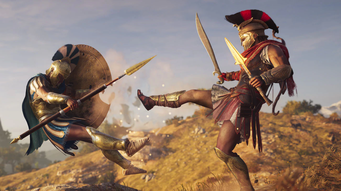 Assassin's Creed Odyssey Sword From E3 2018 Finally Added To Game