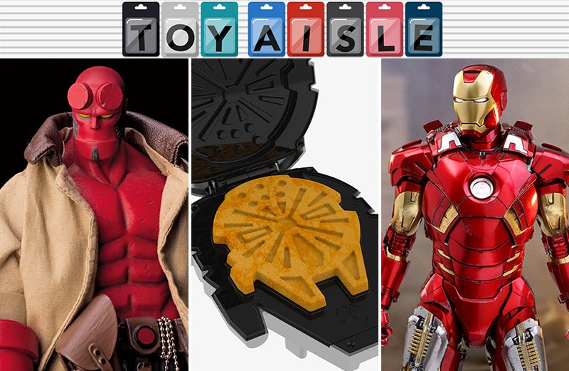 Hellboy, Waffle Makers, Overwatch Nerf Blasters, And More Of The Most Collectable Toys Of The Week