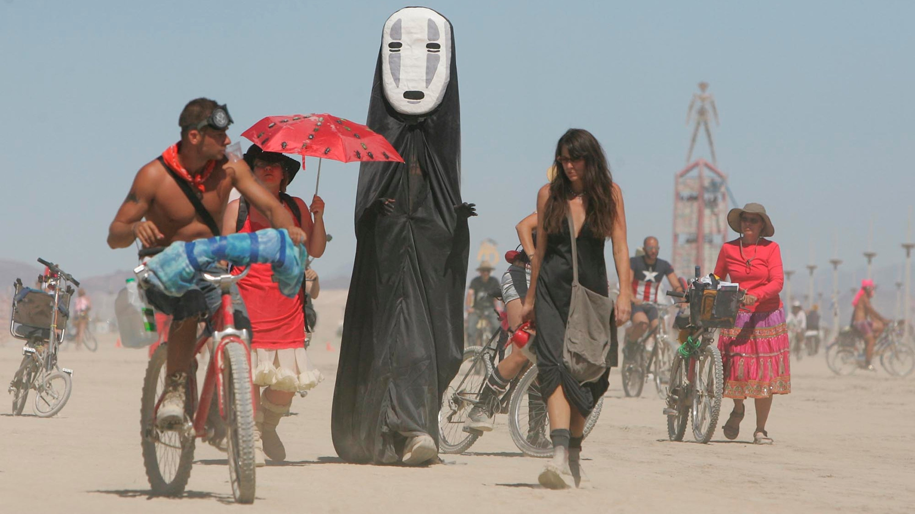 Fire, Dust Storms, And Scorching Heat: This Year's Burning Man Sounds Like The End Of Days