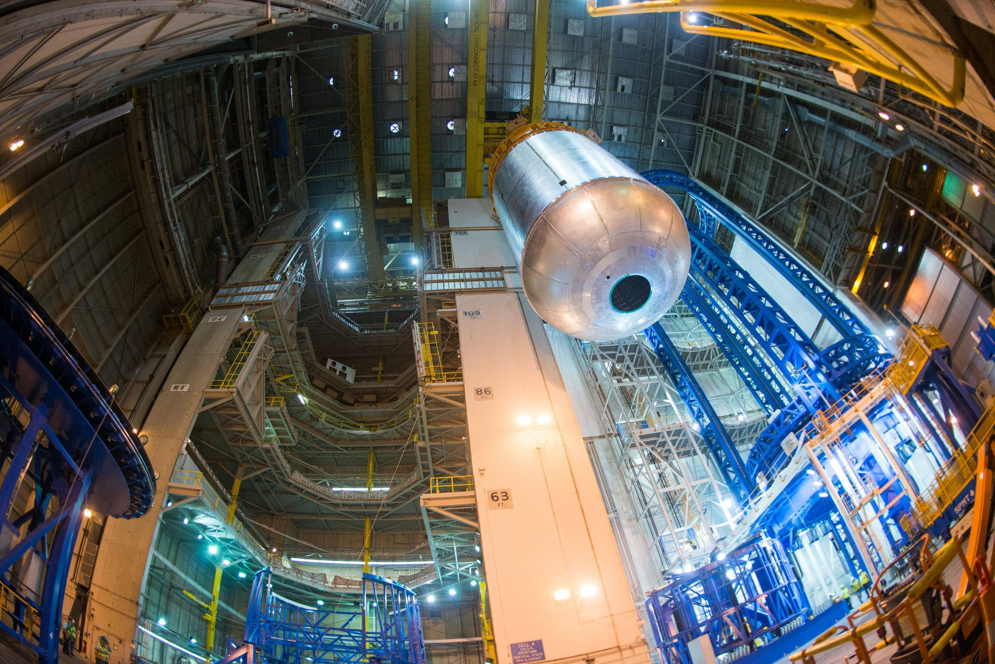This Is the Huge Fuel Tank NASA Will Use to Reach the Depths of Space