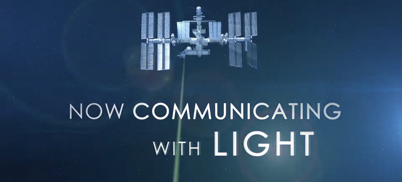 NASA's Using Space Laser to Download Video From Orbit at Gigabit Speeds