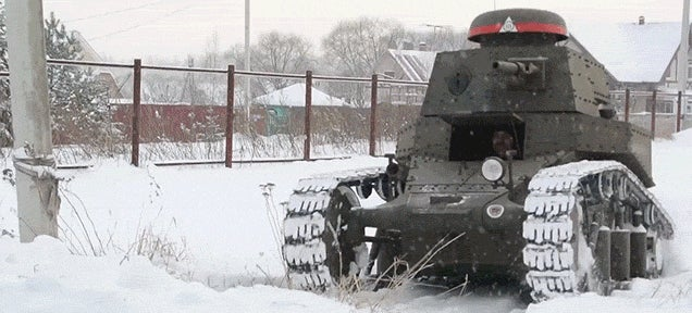 Watching a Homemade Tank Get Built Is Totally Awesome