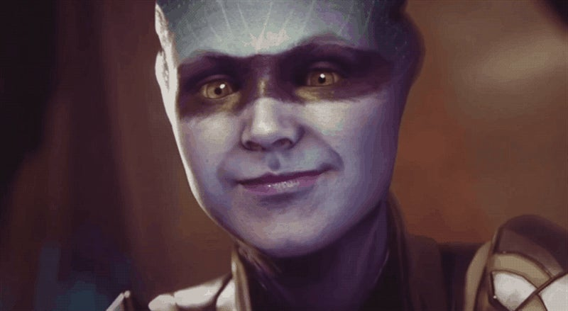 None Of Us Will Ever Be As Perfectly Happy As Mass Effect Andromeda's Smiling Asari
