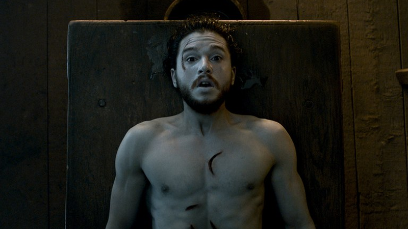 The Death And Return Of Jon Snow Sent Kit Harington To Therapy